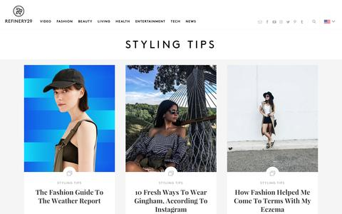 Styling Tips - How To Look Fashionable