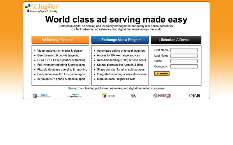 World Class Ad Serving Made Easy