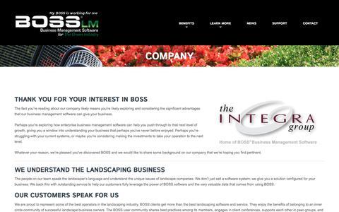 Company  |  BOSS LM