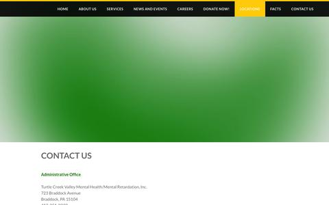low traffic non profit locations pages on weebly website