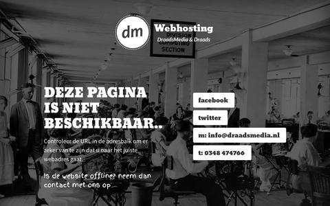 Screenshot of Home Page zuiverwonen.nl - Webhosting Door DraadsMedia & Draads BV |  Montfoort -  Utrecht - captured Sept. 30, 2014