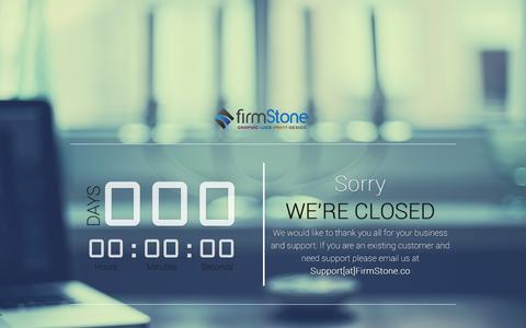 Screenshot of Services Page firmstone.co - Our Services | FirmStone Coming soon - captured Aug. 3, 2015