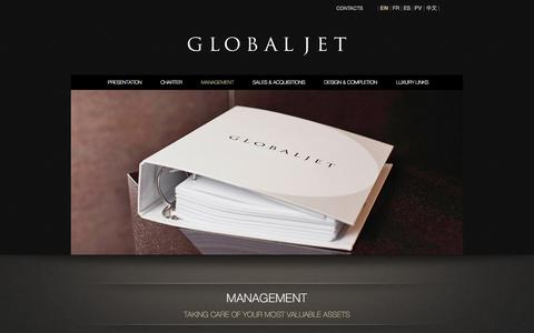 Screenshot of Team Page globaljetconcept.com - Global Jet Concept | Taking care of your most valuable assets. Discover our exceptional Aircraft Management Services. | globaljetconcept.com - captured Sept. 30, 2014
