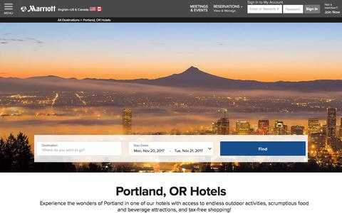 Top Hotels in Portland, OR | Marriott Portland, OR, Hotels