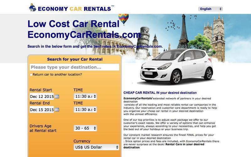 Rental Cars . EconomyCarRentals