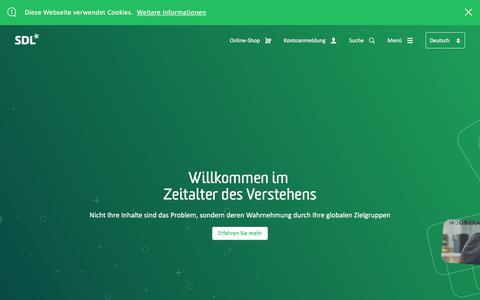 SDL: Unternehmen für Übersetzungsdienstleistungen und Content Management