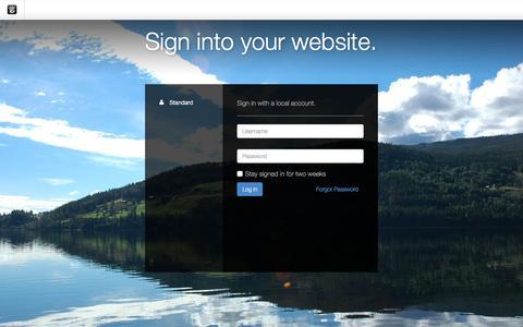 Screenshot of Login Page drgok.com - Delaware Resource Group :: Login - captured Dec. 8, 2015