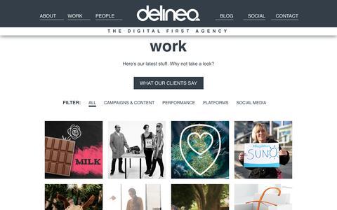 Work | Delineo