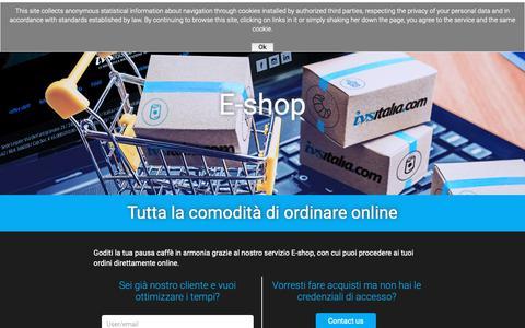 Screenshot of Login Page ivsitalia.com - Login - IVSWeb - captured Oct. 11, 2018