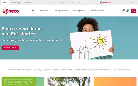Eneco | Energie voor thuis
