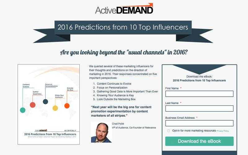 2016 Predictions from 10 Top Influencers