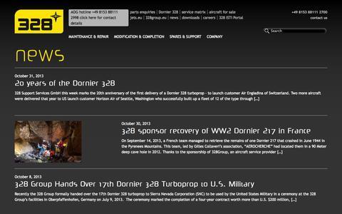 Screenshot of Press Page 328.eu - News   328.eu - captured Oct. 7, 2014