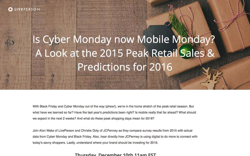 Is Cyber Monday now Mobile Monday?