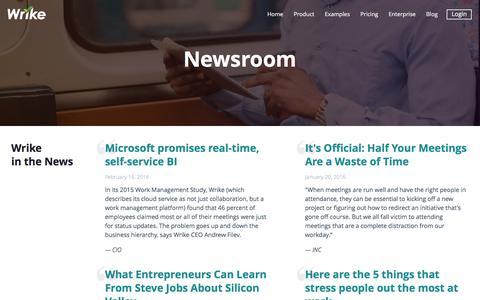 Wrike Newsroom