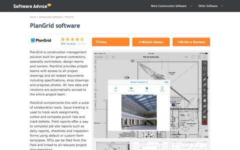 PlanGrid Software - 2018 Reviews, Pricing & Demo