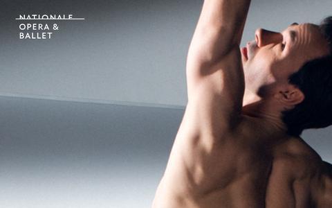 Screenshot of Home Page operaballet.nl - Nationale Opera & Ballet - captured Sept. 23, 2014