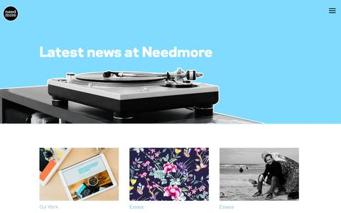 Screenshot of Blog needmoredesigns.com - Blog | - captured June 18, 2017