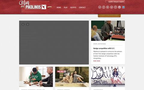 Screenshot of Blog pikolinos.com - Pikolinos | BlogPikolinos.com - captured July 15, 2018