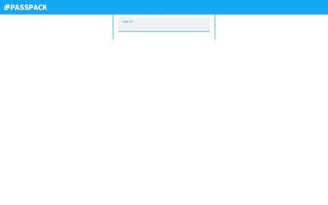 Screenshot of Login Page passpack.com - Passpack - Password Manager - captured Aug. 7, 2019
