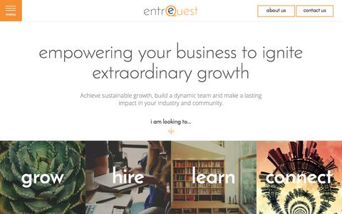 Ignite Extraordinary Growth | Hire the Best Talent | entreQuest