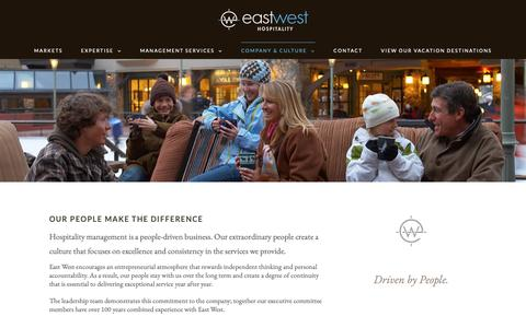 Screenshot of Team Page eastwest.com - Leadership - East West - captured Sept. 26, 2018