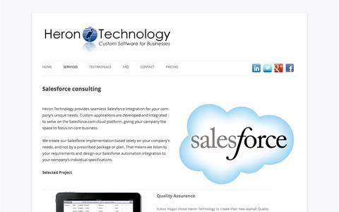 Salesforce Software Development