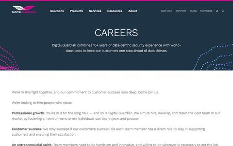 Careers | Digital Guardian