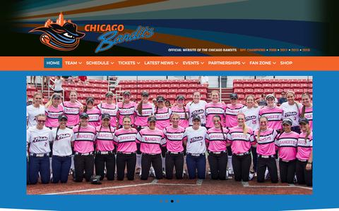 Chicago Bandits – Official website of the Chicago Bandits