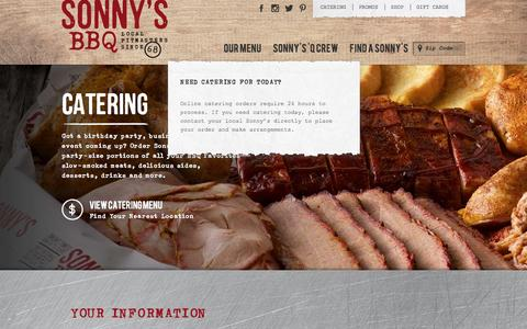 BBQ Catering Services & Pricing | Sonny's BBQ