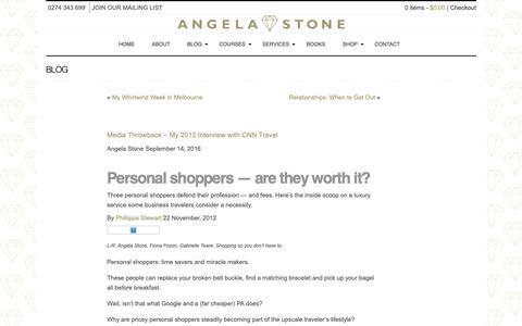 Screenshot of Press Page angelastone.co.nz - Media Throwback - My 2012 Interview with CNN Travel - Angela Stone Angela Stone - captured Oct. 3, 2018