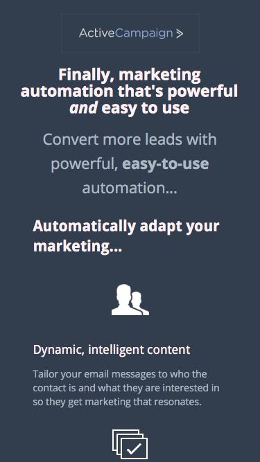 Marketing Automation | ActiveCampaign