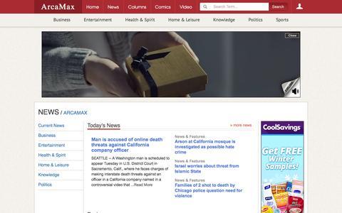 News | ArcaMax Publishing