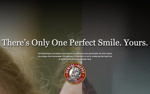 Screenshot of Testimonials Page dentaldepot.net - Dental Depot - captured Oct. 29, 2014