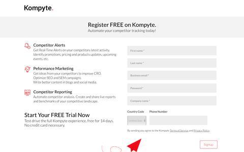 Register | Kompyte