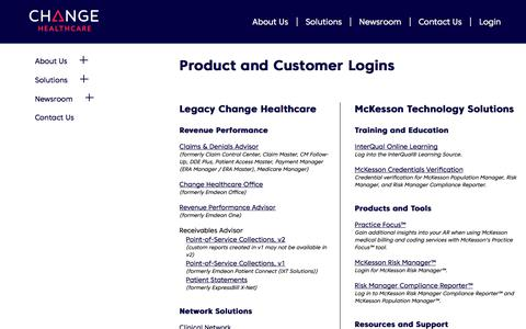 Healthcare & Medical Login Pages on Telerik Sitefinity