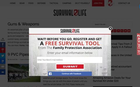Guns & Weapons | Survival Life Prepping & Skills