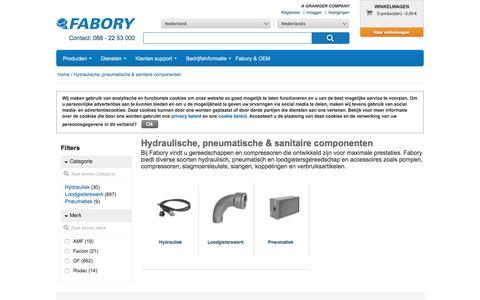 Bij Fabory bestelt u Hydraulische, pneumatische & sanitaire componenten van hoge kwaliteit | Fabory, Nederland
