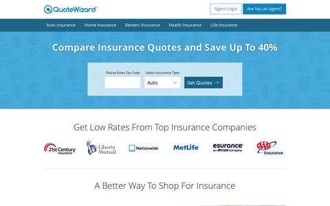 Compare Insurance Quotes | QuoteWizard