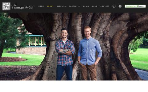Screenshot of About Page outdoorestablishments.com - Outdoor Establishments | Sydney Landscape DesignSydney Landscape Architecture, Design, Landscaping: Outdoor Establishments - captured Feb. 15, 2016