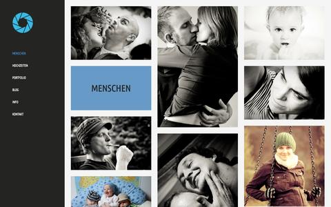 Screenshot of Team Page klwr.de - Menschen - Kliewer Fotografie   Trier, Luxemburg - captured Oct. 27, 2014