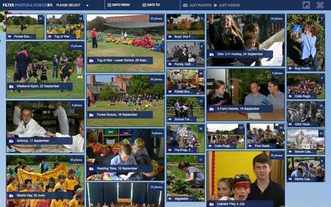 Screenshot of Press Page portregis.com - Photos & Videos | Port Regis School - captured Sept. 30, 2014