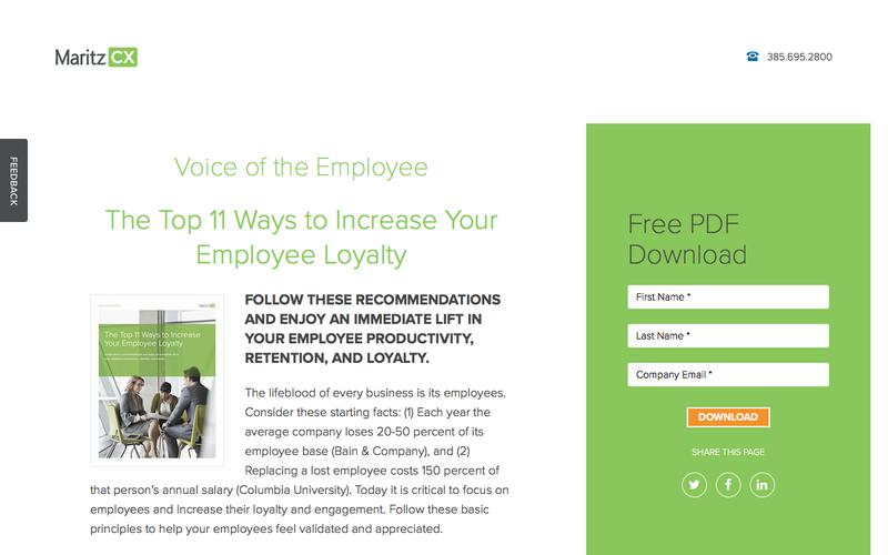The Top 11 Ways to Increase Your Employee Loyalty | MaritzCX
