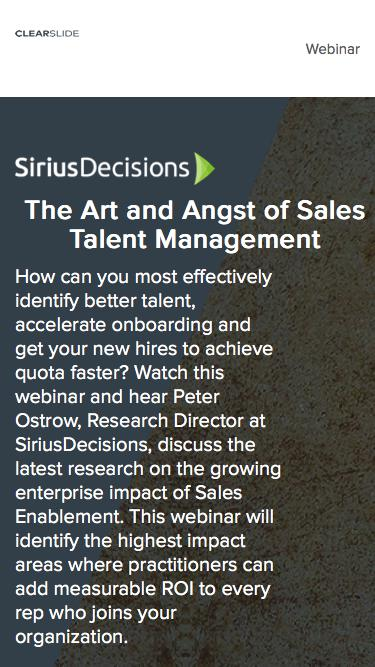The Art and Angst of Sales Talent Management