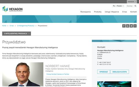 Screenshot of Team Page hexagonmi.com - Przywództwo  | Hexagon Manufacturing Intelligence - captured Nov. 25, 2017