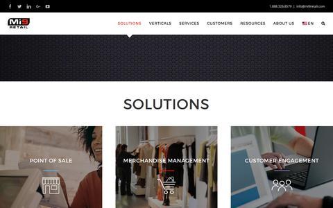 Solutions - Mi9 Retail