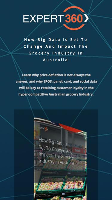 How Big Data Is Set To Change And Impact The Grocery Industry In Australia - by Expert360