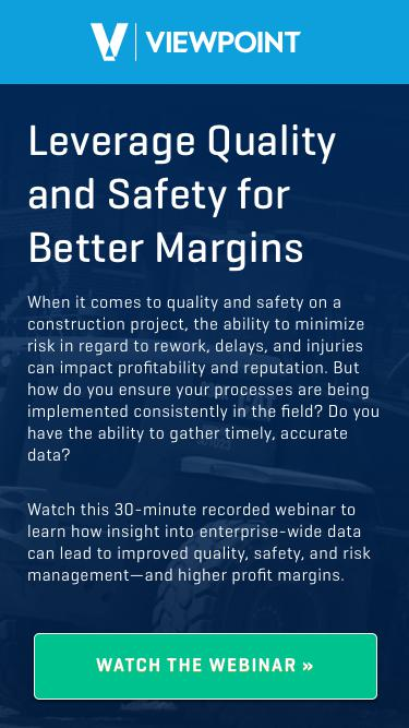 Leverage Quality and Safety for Better Margins