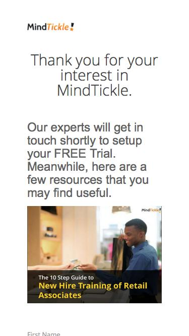 Online Training Software-Cloud Based Training | MindTickle