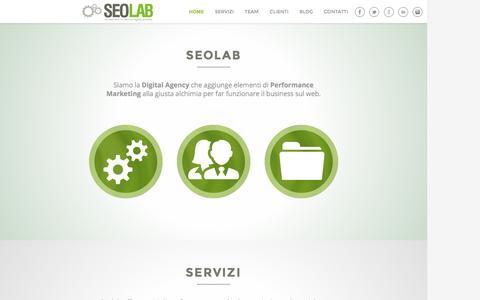 Web marketing, SEO consulting e keyword advertising | Seolab