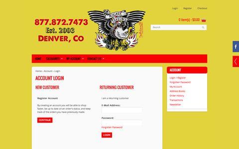 Screenshot of Login Page auxarktrading.com - Account Login - captured Sept. 30, 2014